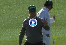 Hoffman cobra protagonismo con su inesperada exhibición sobre los greenes de Augusta (VÍDEO)