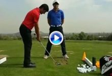 Cuando tu coach confía en ti. El de Felipe Aguilar se la jugó con este golpe entre las piernas (VÍDEO)