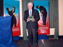 Fallece José Gallardo, ilustre profesional del golf español. Medalla de Oro al Mérito Deportivo