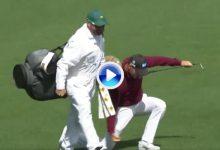 Kaymer arrancó fuerte su vuelta en Augusta. Chip lejano para eagle en el 2 y puño al aire (VÍDEO)