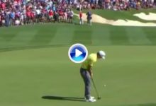 ¡Así se consigue y se celebra una victoria en el PGA! Chappell tuvo que esperar al birdie en el 18 (VÍDEO)