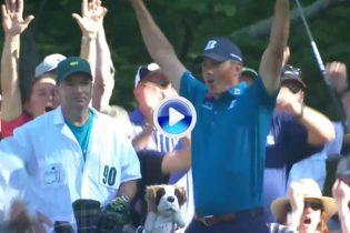 Kuchar desató la locura en el Augusta National con un Hoyo en Uno tras jugar con el green (VÍDEO)