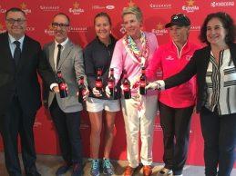 Comienza el gran espectáculo del Mediterranean Ladies Open con Azahara Muñoz y Carlota Ciganda