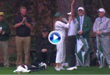 A pesar del tiempo, Mike Weir se apuntó el único Hoyo en Uno en los pares 3 de Augusta (VÍDEO)