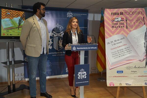 La concejal de Turismo, Sofía Álvarez, durante la presentación del evento
