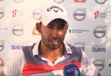 Larrazábal en China: «Yo vengo a ganar torneos de golf y mañana tengo una oportunidad de oro»