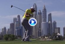 Le presentamos a cámara lenta, el poderoso swing de Sergio García, campeón en Augusta (VÍDEO)