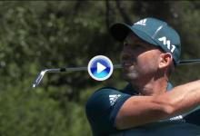 ¿Premonición? Sergio arranca su ronda final con birdie tras un fantástico segundo golpe (VÍDEO)