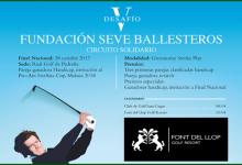 Font del Llop acoge este próximo sábado (15 abril), la 2ª prueba del Circuito Desafío Seve Ballesteros