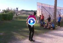 Álvaro Quirós sacó toda su magia en este golpe de recuperación. Cada más cerca del triunfo (VÍDEO)