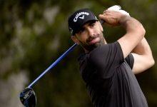 Álvaro Quirós es la nota de color en un día gris para los españoles en el AfrAsia Bank Mauritius Open