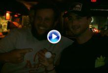 """""""Beef"""" retó en Louisiana a un bar entero en un concurso de putts por una ronda gratis (VÍDEO)"""