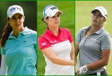 La Armada Femenina con Azahara Muñoz, Beatriz Recari y María Parra en el ShopRite LPGA Classic