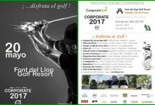 ¡Disfruta el Golf! Font del Llop acoge, el próximo día 20, el espectacular Circuito Corporate 2017