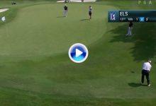 Ernie Els hace que el Golf parezca fácil, solo hay que ver este chip del sudafricano en Irving (VÍDEO)