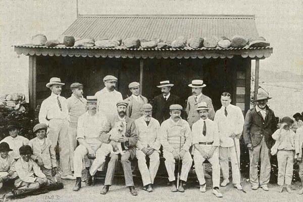 Foto inaugural del Real Golf Club de Las Palmas