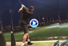 Antetokounmpo, la furia griega de la NBA, también lo intentó en el Golf con un horrible swing (VÍDEO)