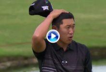 El Golf es duro: Hahn se llevó una corbata cuando buscó el eagle para salir al PlayOff (VÍDEO)