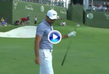 El Golf es duro: Increible golpe de mala suerte de Jason Day en el AT&T Byron Nelson (VÍDEO)