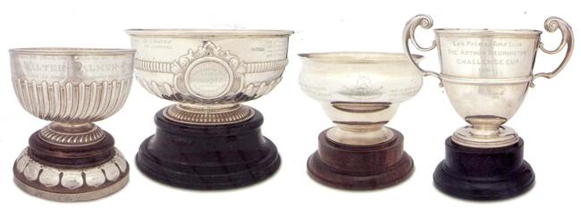 Los 4 trofeos de golf más antiguos de España