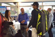 De Maestro a Maestro. Sergio se reencontró con Rafa tras la última victoria del tenista en el Godó