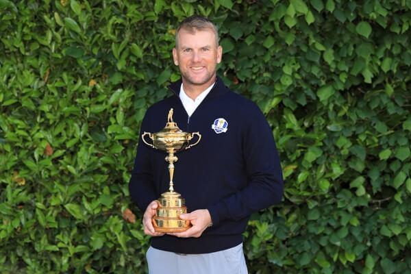Robert Karlsson, elegido por Bjorn vicecapitán del equipo europeo de la Ryder Cup 2018 en París