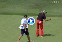 ¡Atención! Sergio García vuelve a sacar el puño y se mete en la pelea por el AT&T Byron Nelson (VÍDEO)
