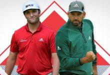 Esto es historia, dos españoles, Sergio García y Jon Rahm, en el Top 10 mundial de golf 25 años después