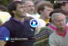 Un golpazo del gran Seve y otro de Jiménez, entre los 10 mejores de la historia en Wentworth (VÍDEO)