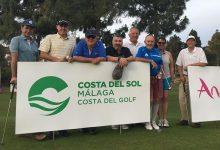 Medios nacionales y touroperadores irlandeses, en el ProAm del Andalucía Costa del Sol Match Play 9