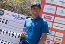 El asturiano Alfredo García-Heredia logra su primer triunfo en el Circuito Nacional celebrado en Tecina