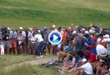 Sergio logró uno de los grandes approaches del día en el 15. ¡Una sutileza que valió un birdie! (VÍDEO)