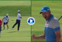 Dos grandes golpes de Sergio García y Jon Rahm, entre los 9 mejores del US Open 2016 (VÍDEO)