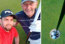 ¡El Golf es fantástico! Dos golfistas hacen Hoyo en Uno en el mismo agujero jugando Match Play