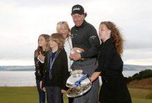 Mickelson antepone la graduación de su hija a la posibilidad de obtener el Grand Slam