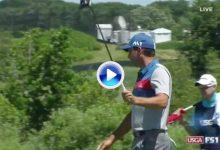 ¡Sensacional! Sergio García comienza a lo grande en el US Open. Eagle del Maestro en el hoyo 1 (VÍDEO)