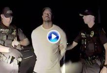 La policía publica el vídeo de la detención de un Tiger incapaz de caminar solo. Juzguen Vds. (VÍDEO)