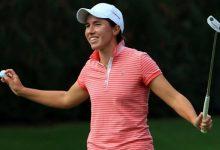 Cumpleaños feliz para Carlota. Firma un vueltón para celebrar sus 28 y es 4ª en el Women's US Open