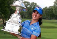 Kang hace saltar la sorpresa y se lleva la 1ª victoria de su carrera en el Women's PGA. Ciganda, T20