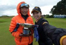Ciganda (T4) roza la victoria en Escocia y firma el mejor resultado del curso. Venció Mi Hyang Lee