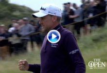Lo mejor de la mañana en The Open de Royal Birkdale, donde manda Poulter, en solo 3′ (VÍDEO)