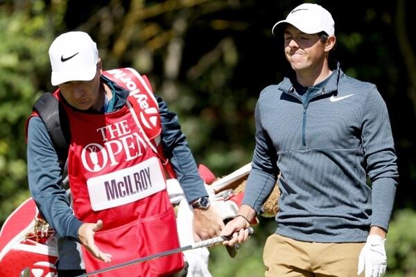 ¡Tú eres Rory! ¿Qué estás haciendo? McIlroy revela la bronca que le echó su caddie a mitad de ronda
