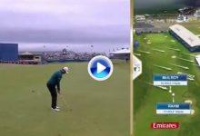Rahm-bo volvió a dar en la diana. Vaya golpazo con viento cruzado para liderar el Irish Open (VÍDEO)