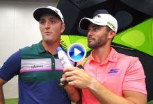 Dude Perfect retó a Rahm a un concurso de pares 3 indoor con trampa… y salieron escaldados (VÍDEO)