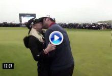 ¿Qué hace un campeón tras ganar un torneo? Vea en 2′ lo que hizo Jon Rahm en el Irish Open (VÍDEO)