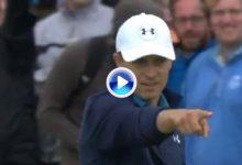 Spieth, Fowler, McIlroy… Siete golpes como siete soles, de lo mejorcito sucedido en el Open (VÍDEO)