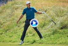 Los momentos más destacados del mano a mano entre Spieth y Kuchar en el Open en solo 2′ (VÍDEO)