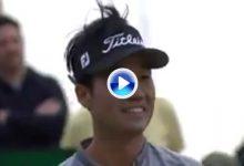 Na mostró el camino del Hoyo en Uno en Royal Birkdale durante la ronda de prácticas (VÍDEO)