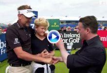 ¡La magia llegó a Irlanda del Norte! Este profesional maravilló a los jugadores con sus trucos (VÍDEO)