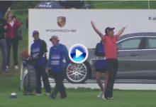 ¡¡Booooommm!! Siem se lleva a casa un Porsche Panamera valorado en 160.000€ con su Ace (VÍDEO)